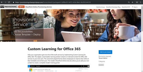 Custom Learning Provisioning