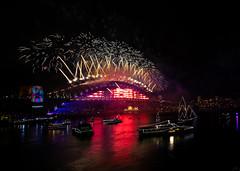 2018-12 December 31 Sydney NYE 2019 Fireworks