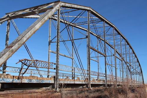 Old Leupp Little Colorado River Bridge (Coconino County, Arizona)