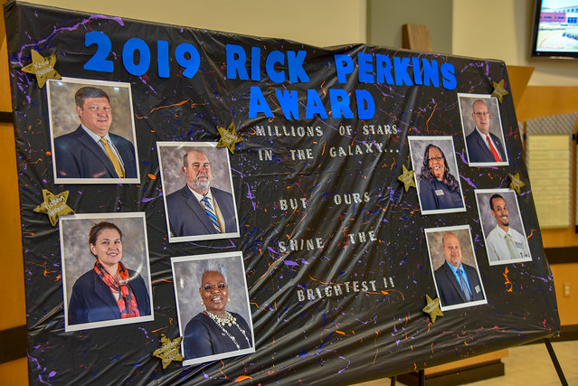 Rick Perkins Instructor of the Year 2019