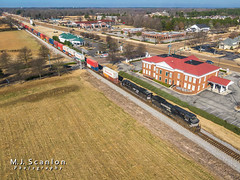 NS 9661 | GE C44-9W | NS Memphis District West End