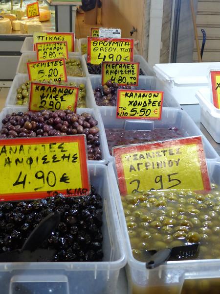 olives du pirée