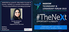 PathSOS is invited at Roundtable on Healthcare at NASSCOM Technology & Leadership Forum