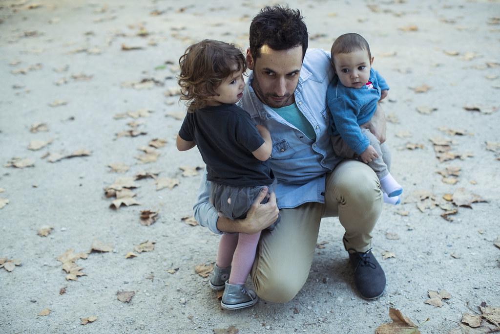 No conozco a un padre más entregado (fotografía de Jaime Massieu)