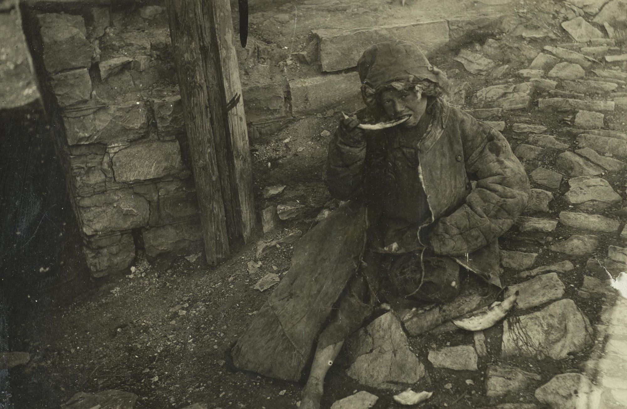 Осиротевший ребенок. Самарская губерния
