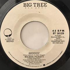 WILSON PICKETT:GROOVIN'(LABEL SIDE-B)