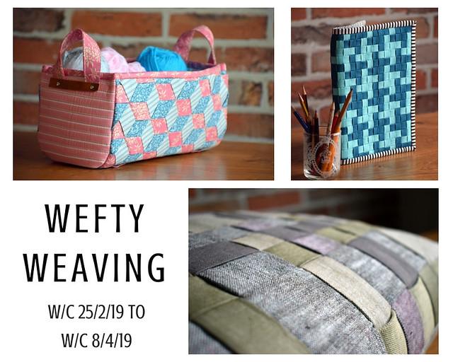 Wefty Weaving info
