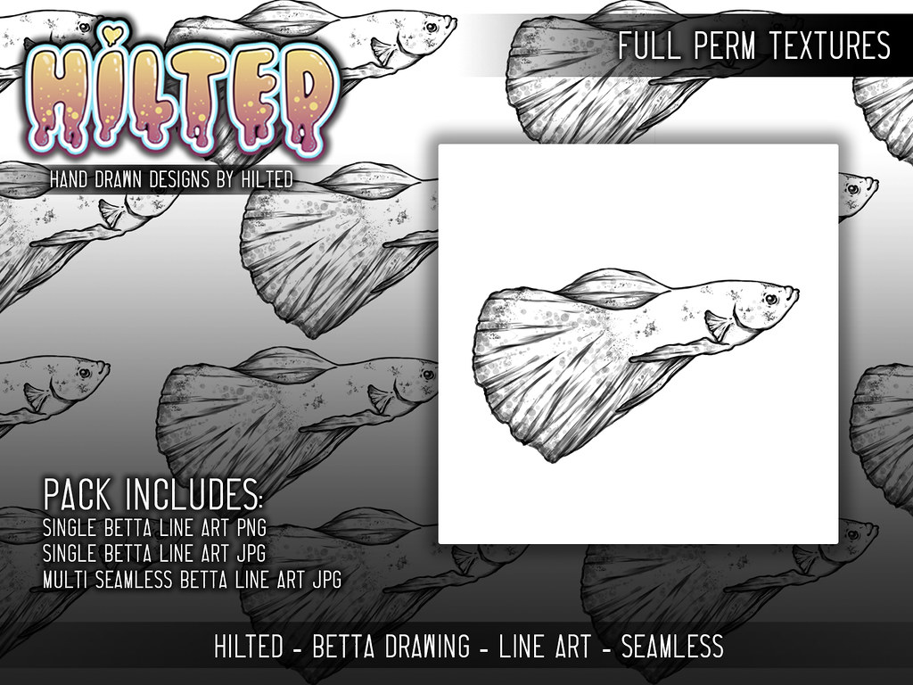 HILTED – Betta Fish Texture