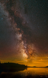 Milky Way over Lake Lila (re-processed 2-27-19) | by mbeganyi