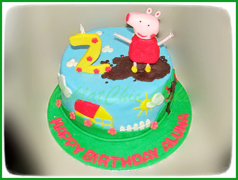 Cake Peppa The Pig ALUNA 18 cm