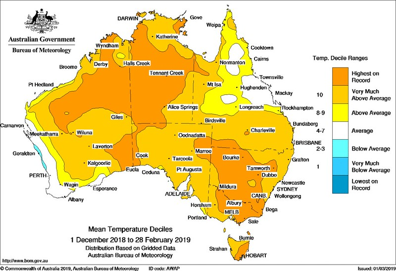 What Does Australia Look Like On A Map.A Study Of Significant Heat Or Drought In Australia Crikey
