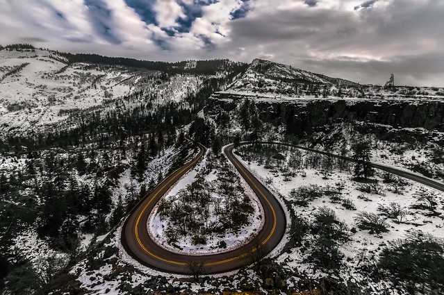 Rowena Crest Winter Curves