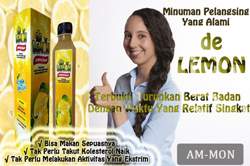 De Lemon Jus Sari Lemon Asli Untuk Diet Sehat Alami