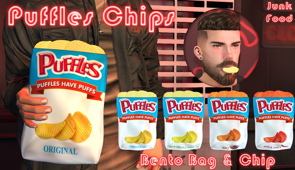 Junk Food - Puffles Chips - TeleportHub.com Live!