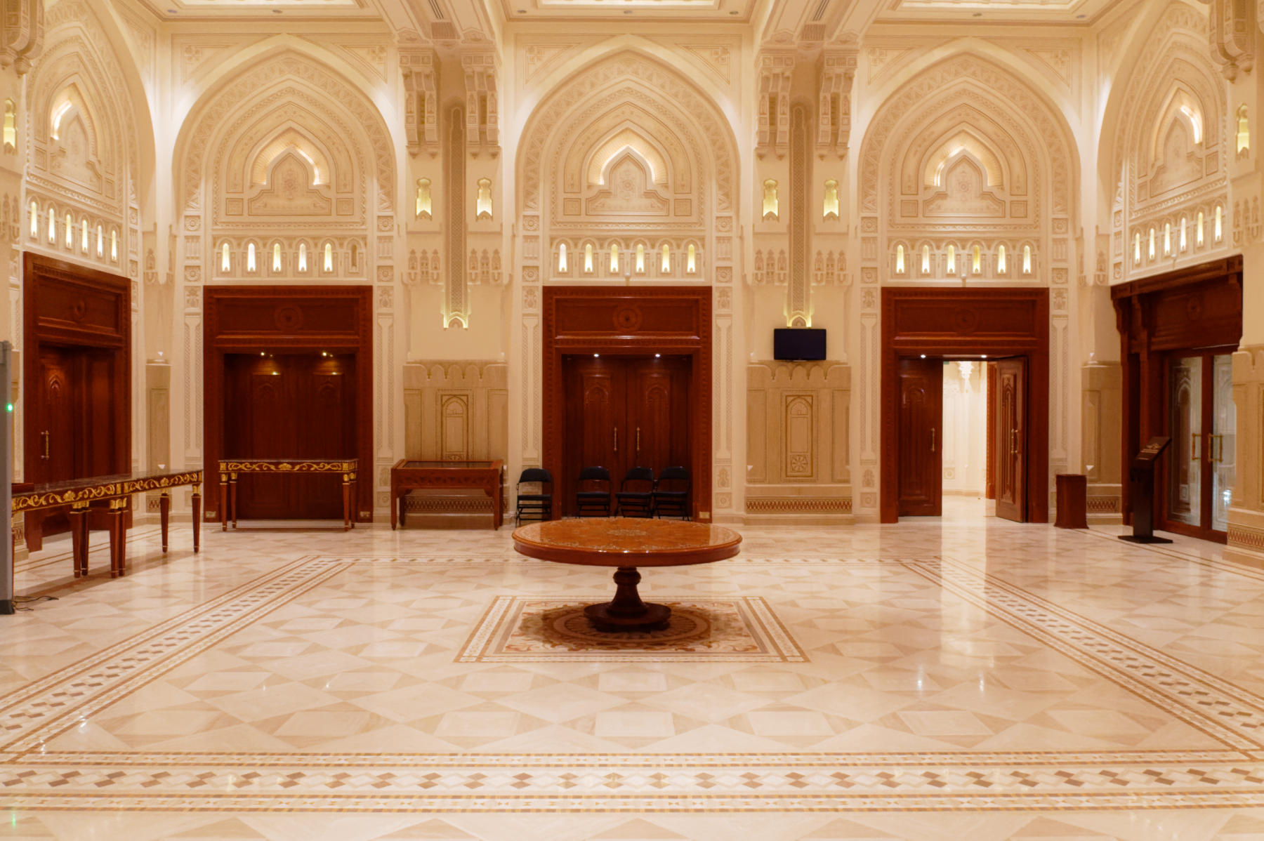 Ticket Office, Inside the Royal Opera House, Muscat