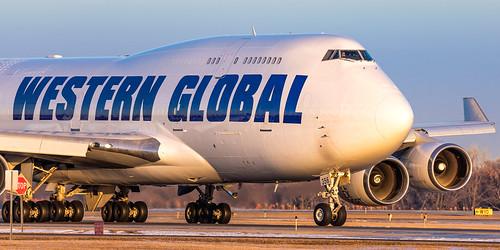 minneapolisstpaulinternationalairport msp kmsp mspairport westernglobalairlines wgn2561 queenoftheskies 747 n356kd boeing b744 freighter boeingconvertedfreighter 747446bcf aviation avgeek 747400f