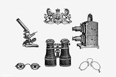 Vintage objects decoration