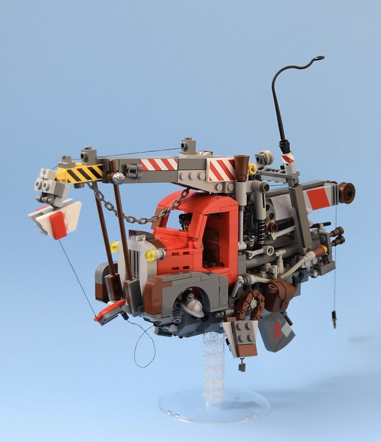 Flying Pick Up ( Inspired by Ian McQue )
