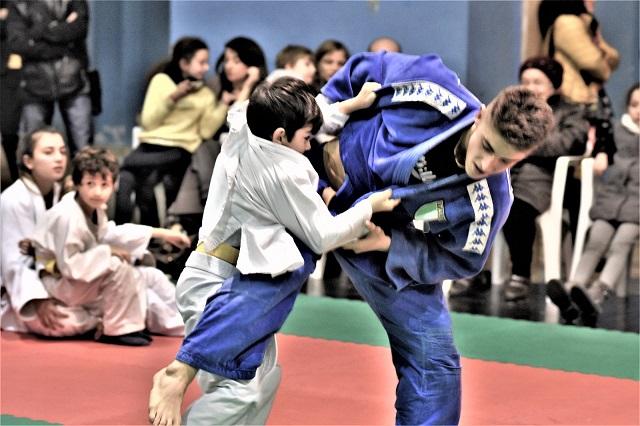 Noicattaro. judo intero