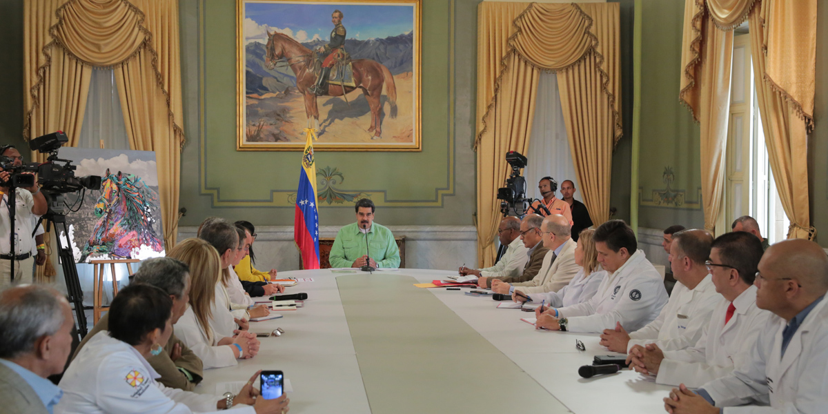 Presidente Maduro Reunion de Trabajo con el Sector Salud