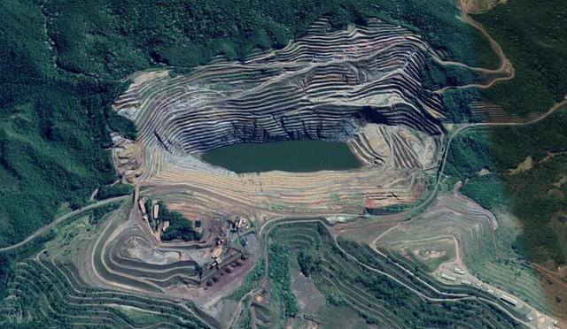 Resultado de imagem para foto da barragem barao de cocais