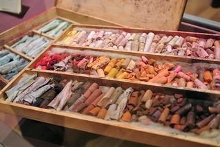 Mary Cassatt's pastel box