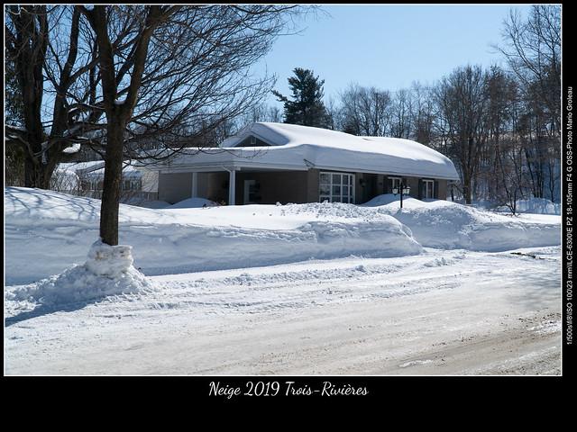 Neige 2019 Trois-Rivières