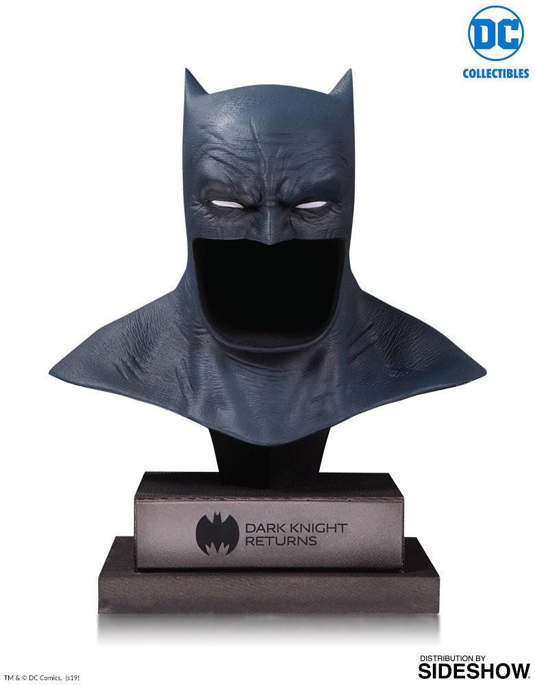 DC Collectibles DC Gallery【黑暗騎士歸來 蝙蝠俠面罩】Dark Knight Returns Batman Cowl 1/2 比例雕像作品