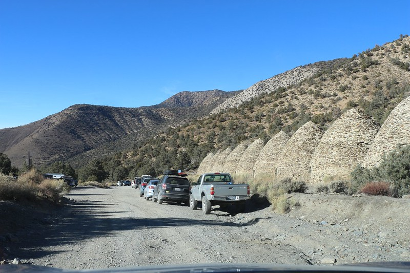 There were lots of people visiting the Charcoal Kilns as we headed down the road