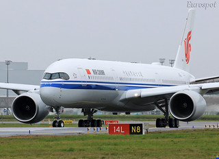 F-WZFQ Airbus A350 Air China