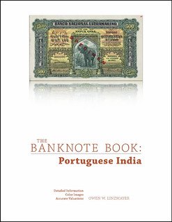 Banknote Book Portuguese India chapter cover