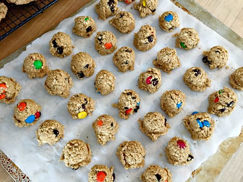 frozen cookie dough balls