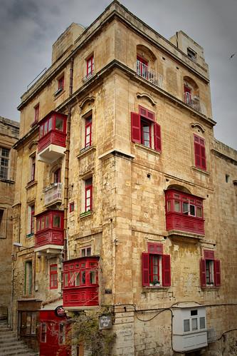 Buildings in Valletta