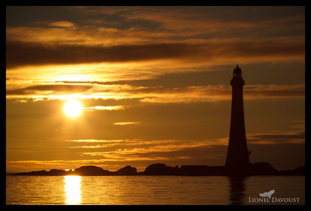 Golden lighthouse