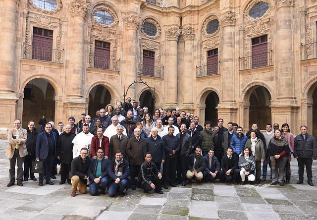 Foto de grupo jornadas UPSA en las fiestas en honor a Sto Tomás de Aquino