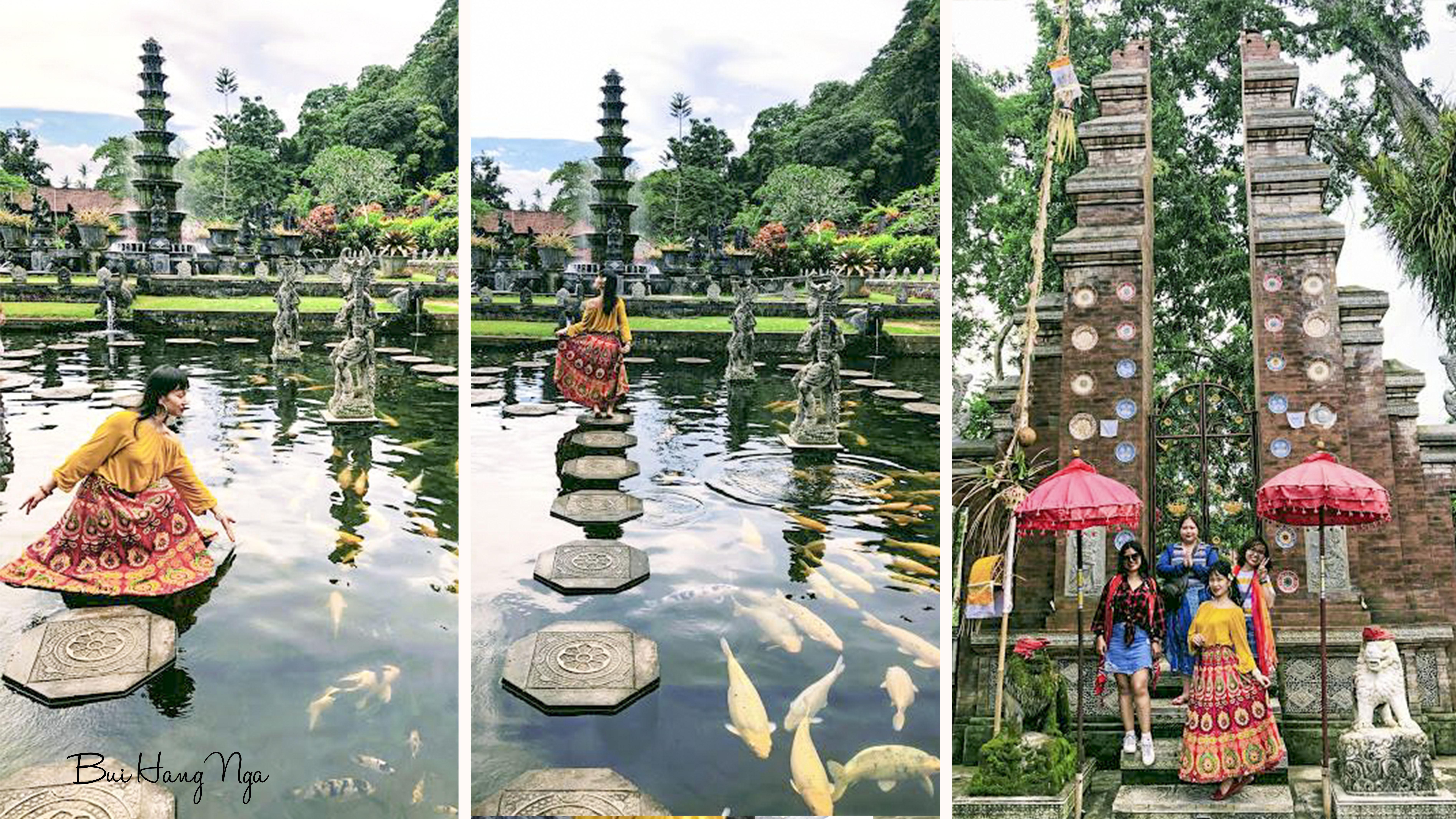 những ngôi đền ở Bali-Tirta Gangga