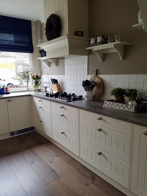 Landelijke lichte keuken