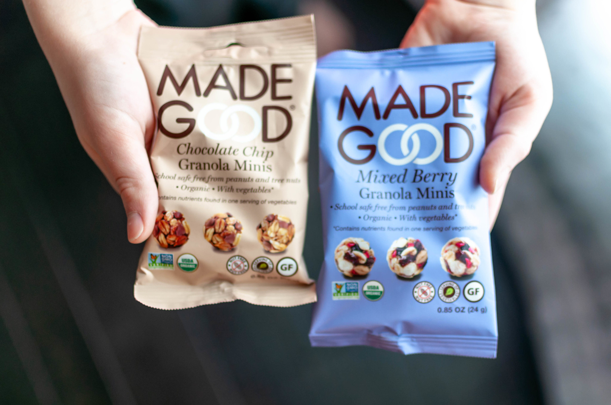 MadeGood granola minis are a new favorite in our house and I'm talking all about them in this month's Let's Catch Up post.