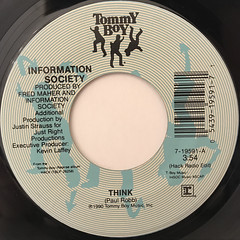 INFORMATION SOCIETY:THINK(LABEL SIDE-A)