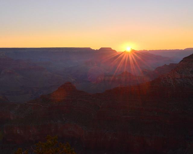 Mejor mirador donde ver amanecer en el Gran Cañón