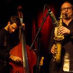 Lukas Kranzelbinder: bass / Clemens Salesny: sax