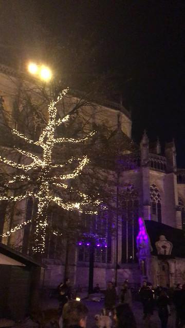 Kerstsfeer op de Grote Markt in Leuven