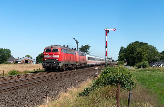 218 380 & 397 in Langenhorn