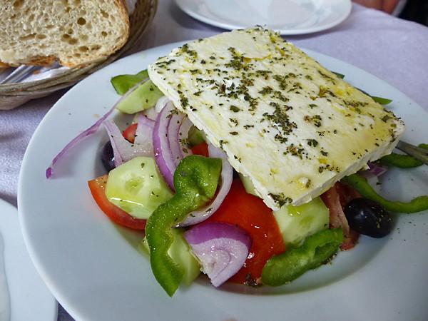 salade rgecque au Pirée