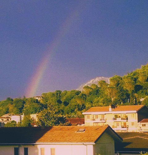 If you want the rainbow,you have to deal with the rain!(John Green)