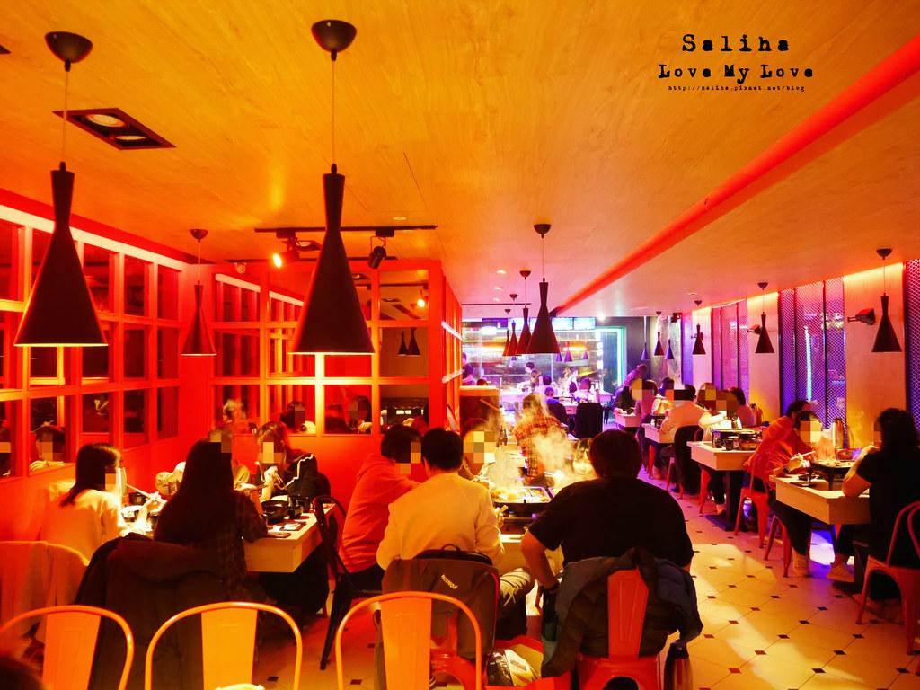 台北小巨蛋站南京東路餐廳水貨炭火烤魚麻辣火鍋大份量餐點 (3)