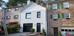 Exterior Paint Job of Hoover home, After