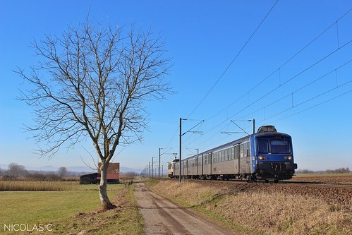 RRR n°232 + BB25657 - AR140 -Train n°830121 Saverne > Strasbourg-Ville