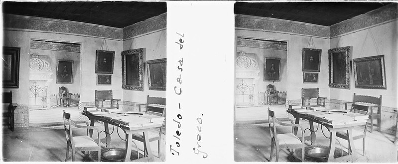 Casa - Museo del Greco en Toledo el 24 de febrero de 1918. Fotografía de Carles Batlle Ensesa © Ajuntament de Girona. CRDI (Carles Batlle Ensesa)