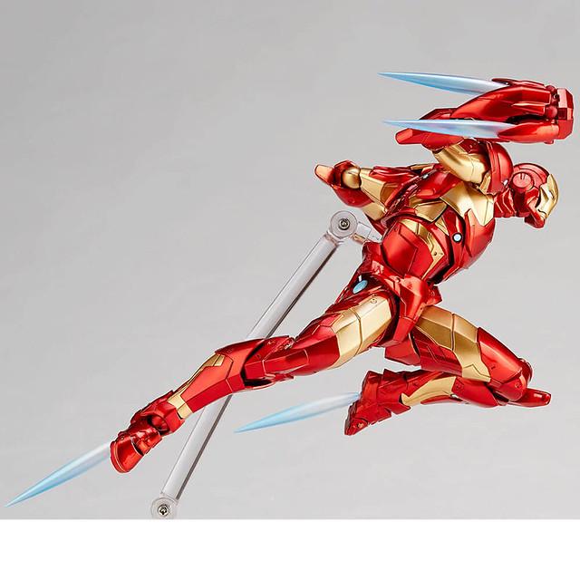 讓你再現鋼鐵人千變萬化的戰鬥姿態!! 海洋堂 Amazing Yamaguchi 系列 Marvel【鋼鐵人 超尖端裝甲】アイアンマン ブリーディングエッジアーマー / Iron Man Bleeding Edge Armor